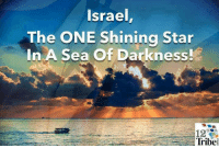 Tribing: Israel  The ONE Shining Star  In A Sea Of Darkness!  12  Tribe