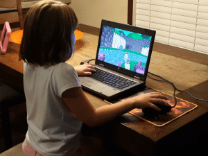 Life, Game, and Quest: ISS Thought of having my kid try Quake or Half-Life, but figured this Doom clone 'The Adventures of Square' would be better. There's so much charm in this game. It's basically Chex Quest with violence.