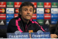 If we score the first goal, the second will be scored by Camp Nou and the third will come by itself.- Luis Enrique: ISSAN Bara  CHAMPIONS CHAMPIONS If we score the first goal, the second will be scored by Camp Nou and the third will come by itself.- Luis Enrique