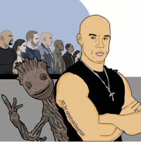 199(of 365)- Big happy 50th birthday to actor @vindiesel, who is currently apart of two of the bigger film franchises (Fast & the Furious and Guardians of the Galaxy)... artbyaarontheartist art drawing drawdaily2017 movies actor fastandfurious domtoretto gotg iamgroot digitalart design idraw gfx graphics instaart instaartist instagood artsy dopeart: ist  art by:@aaronthea 199(of 365)- Big happy 50th birthday to actor @vindiesel, who is currently apart of two of the bigger film franchises (Fast & the Furious and Guardians of the Galaxy)... artbyaarontheartist art drawing drawdaily2017 movies actor fastandfurious domtoretto gotg iamgroot digitalart design idraw gfx graphics instaart instaartist instagood artsy dopeart