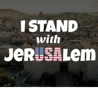 Donald Trump, Memes, and Thank You: ISTAND  with The US embassy finally opened in Jerusalem.   Thank you, Donald Trump!