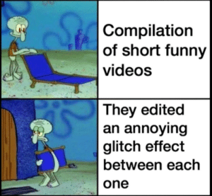 It's just annoying: It's just annoying