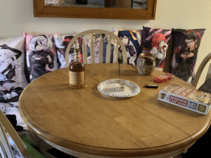It's my 25th birthday today but due to social distancing, I have to wait to celebrate with my friends. For now, I'm settling for my waifus.: It's my 25th birthday today but due to social distancing, I have to wait to celebrate with my friends. For now, I'm settling for my waifus.