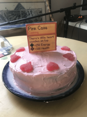 It's my boyfriend's birthday and all he asked for was a cake - so I made him a Pink Cake! :): It's my boyfriend's birthday and all he asked for was a cake - so I made him a Pink Cake! :)