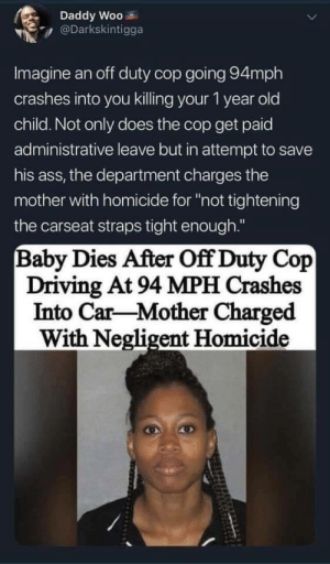 It's never the cop's fault, is it (via /r/BlackPeopleTwitter): It's never the cop's fault, is it (via /r/BlackPeopleTwitter)
