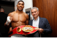 Soccer, Joshua, and Parker: It all makes sense now why Anthony Joshua was so defensive against Parker.. 👀😂 https://t.co/axWkuNsRQq