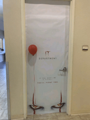 The perfect description!!: IT  DEPARTMENT  IF YOU DON'T Do  A TICKET  YOU'LL FLOAT TOO The perfect description!!