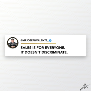 It doesn't matter the business you're in, SALES DOESN'T DISCRIMINATE.   I've sold 10's of millions of pounds worth of products nationally and I can show you too. Get in touch to find out more: https://t.co/W9qzRnYGfN https://t.co/O65gGkkrlc: It doesn't matter the business you're in, SALES DOESN'T DISCRIMINATE.   I've sold 10's of millions of pounds worth of products nationally and I can show you too. Get in touch to find out more: https://t.co/W9qzRnYGfN https://t.co/O65gGkkrlc