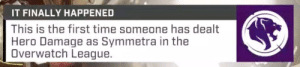 fibonacci-to-infinity:  Bless Surefour: IT FINALLY HAPPENED  This is the first time someone has dealt  Hero Damage as Symmetra in the  Overwatch League. fibonacci-to-infinity:  Bless Surefour