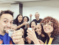 Memes, Cuban, and 🤖: It got really real when Janet showed up with her patented 2-show day Cuban cafecito #Heights10  🇨🇺 @JMunozActor @TheOlgaMerediz @Karenolivo @IAMSethStewart @Vegalteno https://t.co/2O7VeE9y9I