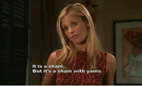 Buffy The Vampire Slayer: It is a sham  But it's a sham with yams. Buffy The Vampire Slayer