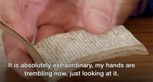 Tumblr, Blog, and Http: It is absolutely extraordinary, my hands are  trembling now, just looking at it. memehumor:  This 17th century artifact made the nerds on 'Antiques Roadshow' absolutely tremble.'