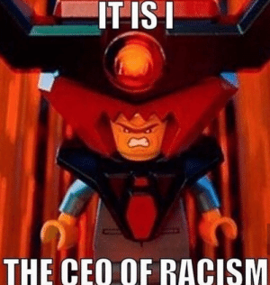 Racism, Mad, and Ceo: IT ISI  THE CEO OF RACISM I'm very mad at you