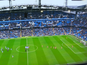 It seems like Man City fans are protesting against their owners as well. https://t.co/IB7TsC3sTj: It seems like Man City fans are protesting against their owners as well. https://t.co/IB7TsC3sTj