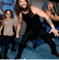 Family, Instagram, and Memes: It was a family affair above water at the Aquaman premiere. 🔱 🤩 See more at @toofabnews or in our Instagram Story. tmz jasonmomoa aquaman dc movie 📷Getty