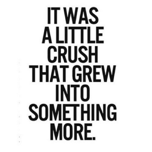 Crush, Net, and Href: IT WAS  A LITTLE  CRUSH  THAT GREW  INTO  SOMETHING  MORE. https://iglovequotes.net/