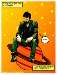 Tumblr, World, and Sad: IT WAS A SAD DAY FOR  A SAD KEANU  SIGH  AND THE WORLD DIDN'T  SEEM TO NOTICE IT  SHALLOW-END TUMBLR.COM <p>ADVENTURES OF KEANU #233.</p> <p>Submitted by shallow-end</p>