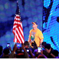 It was an honor to represent old glory at WWE Battleground.: It was an honor to represent old glory at WWE Battleground.