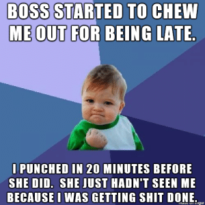 It was kind of fun watching her eat crow.http://advice-animal.tumblr.com/: It was kind of fun watching her eat crow.http://advice-animal.tumblr.com/