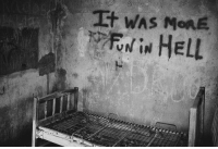 RT @REALLlFEHEROES: Creepy Image From An Abandoned Hospital: It WAS MORE  RNIN HELL RT @REALLlFEHEROES: Creepy Image From An Abandoned Hospital