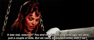 https://iglovequotes.net/: It was real, wasn t it? You and me. Such a long time ago, we were  just a couple of kids. But we really loved each other, didn't we? https://iglovequotes.net/