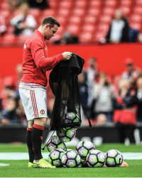 Soccer, United, and Boy: It Wayne Rooney did so well in his new position as Man United's ball boy.