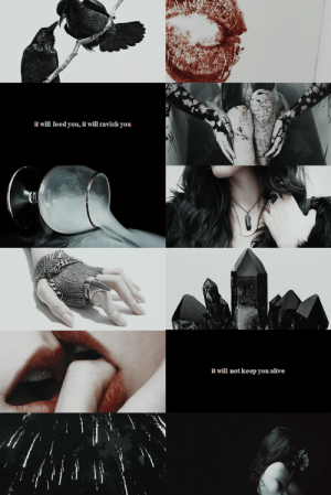 Alive, Tumblr, and Blog: it will feed you, it will ravish you   it will not keep you alive thewinedarksea:  f/f february: morgan le fay  the morriganrequested by @sunseteer5