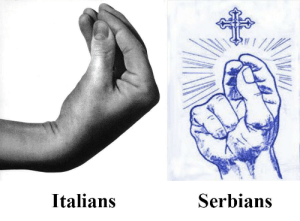 Dank, Meme, and Memes: Italians  Serbians Let's revive this terrible meme, shall we? by dont_mess_with_tx FOLLOW 4 MORE MEMES.
