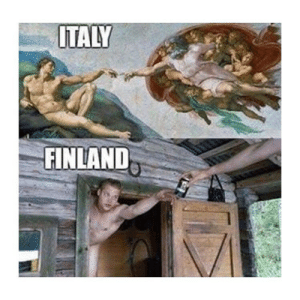 Classical Art, Italy, and Finland: ITALY  FINLAND So pure
