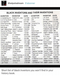 Ithelpstodream Siabonner Black Inventors And Their