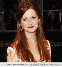 """Memes, Http, and Time: ITISH ACA  M AWARDS  BRITIS  FIl  The #2 most addicting site  MUGGLENET MEMES.COM <p>Ginny Weasley&rsquo;s all grown up! (how time flies) <a href=""""http://ift.tt/1kjVBji"""">http://ift.tt/1kjVBji</a></p>"""