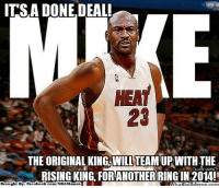 25 best done deal memes a 1 memes from memes the memes air jordan fac and lebron james its a done deal heat the fandeluxe Choice Image