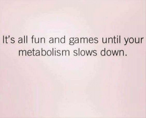 Memes, Games, and 🤖: It's all fun and games until your  metabolism slows down.