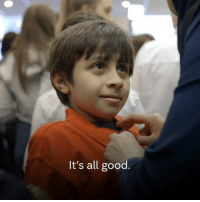 Community, Memes, and School: It's all good This is the story of how one Welsh community welcomed a 10-year-old Syrian boy on his first day at school.