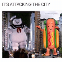 Dank, Funny, and Lmao: IT'S ATTACKING THE CITY  @PabloPigasso I knew this day would come eventually 😓😤😂 • • -Follow @svgnoah For More 💦 • • -Tags: meme memes trayvon funny smile followforfollow ifunny wet omg lmao rofl joke comedy likeforlike savage svgnoah lol laugh nochill offensive hood dank relatable edgy femanist filthyfrank donaldtrump optic