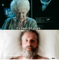 Memes, Been, and 🤖: It's been 84 years  S HO  101  aMC
