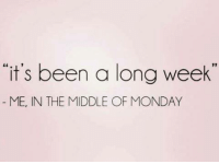 """Memes, 🤖, and Longing: """"it's been a long week  ME, IN THE MIDDLE OF MONDAY"""