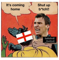 Mario says go home ✋😂✌ England Croatia WorldCup Mandzukic: It's coming  home  Shut up  b*tch!! Mario says go home ✋😂✌ England Croatia WorldCup Mandzukic