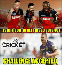 Memes, Cricket, and Mad: ITS DIFFICULT TO GETTHESE 3 GUYS OUT  TROLLL  CRICKET  SIONEE  CHALLENGE  ACCEPTED Nathan Coulter-Nile <3  <mad>