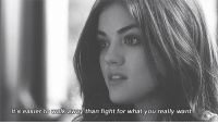Http, Fight, and Net: It's easier to walk away than fight for what you really want. http://iglovequotes.net/
