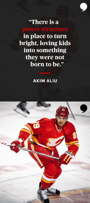 It's easy to fall in love with hockey, but @Dreamer_Aliu78 believes the problem is dealing with the power dynamics once you start playing.   📝: https://t.co/QA9nHB8plS https://t.co/H9oNngVYri: It's easy to fall in love with hockey, but @Dreamer_Aliu78 believes the problem is dealing with the power dynamics once you start playing.   📝: https://t.co/QA9nHB8plS https://t.co/H9oNngVYri