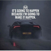Hell yeahhhh its gonna happen! Because if you work hard for something and you set your mind to it, there's NO way you won't make it. 🔥 A combination of desire, hard work and determination are key to achieve anything you want in life. Let's get it💯 millionairementor: IT'S GOING TO HAPPEN  BECAUSE ITM GOING TO  MAKE IT HAPPEN. Hell yeahhhh its gonna happen! Because if you work hard for something and you set your mind to it, there's NO way you won't make it. 🔥 A combination of desire, hard work and determination are key to achieve anything you want in life. Let's get it💯 millionairementor