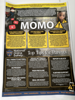 Children, Facebook, and Gym: It's important  vice on hant to note that new challenges are arising on the  internet all the time. We have created to this guide to raise awareness of the issuea  and offer  Ping parents to talk to their children about making safer decisions online. See also our 7  conversation starters guide for more tips on  nication with your chil  Momo is a sinister challenge'  that has been around for some time. It has recently resurfaced and  once again has come to the attention of schools and children acros  suicide killer game, Momo has been heavily linked with apps such as Fa  YouTube, and most recently (and most worryingly)... YouTube Kids. The sca  cebook, WhatsApp,  reportedly sends graphic violent images,and asks users to  waking up at random hours and has even been associated with self-harm. It has been reported  partake in dangerous challenges like  that the Momo' figure was originally created as a sculpture and featured in an art gallery in  an  What parens need fo know about  MOMO4  CHILDREN'S VIDEOS  BEING'HJACKED  DISTRESSING FOR  CHILDREN  SUGGESTED VIDEOS  ON YOUTUBE  There have been recent reports that some  seemingly innocent videos on YouTube and  Video apps such as YouTube include an 'up  Popular YouTubers and other accou  been uploading reaction videos, showing  their experience of the MOMO challenge  Some of the videos include a disclosure  message warning that the content may be  next' feature which automatically star  laying another video based on the video  ust watched. Due to YouTube's algorithm,  YouTube Kids (such as  unboxigvideos and Minecraft videos) have  een edited by unknown sour  users are shown 'suggested videos  violence provoking and/or other  nappropriate content. Even though  YouTube monitor and remove videos that  may be interested in. The thumbnails used  on suggested videos are purposefully  created in a way to encourage viewers to  appropriate or offensive to some  LI  ude inappropriate content, clips can