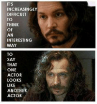 Johnny & Gary Oldman <3: ITS  INCREASINGLY  DIFFICULT  TO  THINK  OF  AN  INTERESTING  WAY  TO  SAY  THAT  ONE  ACTOR  LOOKS  LIKE  ANOTHER  ACTOR Johnny & Gary Oldman <3