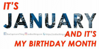 Happy birthday to all January babies! Don't forget to visit https://zodiacthing.com/store/capricorn to check out our exclusive Capricorn items!: IT'S  JANUARY  AND IT'S  MY BIRTHDAY MONTH  f ItsaCapricornThing @zodiacthingcom https://zodiacthing.c Happy birthday to all January babies! Don't forget to visit https://zodiacthing.com/store/capricorn to check out our exclusive Capricorn items!