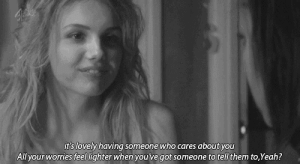 https://iglovequotes.net/: it's lovely having someone who cares about you  All your worries feel lighter when you ve got someone to tell them to,Yeah? https://iglovequotes.net/