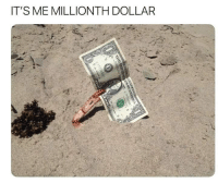 Dank Memes, It's Me, and Me-Millionth-Dollar: IT'S ME MILLIONTH DOLLAR