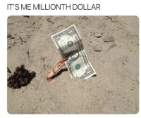 Memes, Via, and Href: IT'S ME MILLIONTH DOLLAR AR AR AR via /r/memes https://ift.tt/2OagNhn