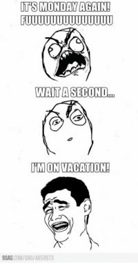 It's Monday!