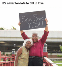 Yes. | Follow @aranjevi for more!: It's never too late to fall in love  She Sad  YESI Yes. | Follow @aranjevi for more!